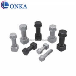 China Supplier High Quality Durable Bolt and Nut For Track Bolt & Nut