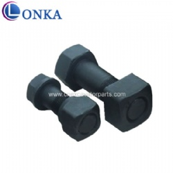 130-32-11213+130-32-11220 M16*1.5*57 Track Bolt and Nut used in track shoe
